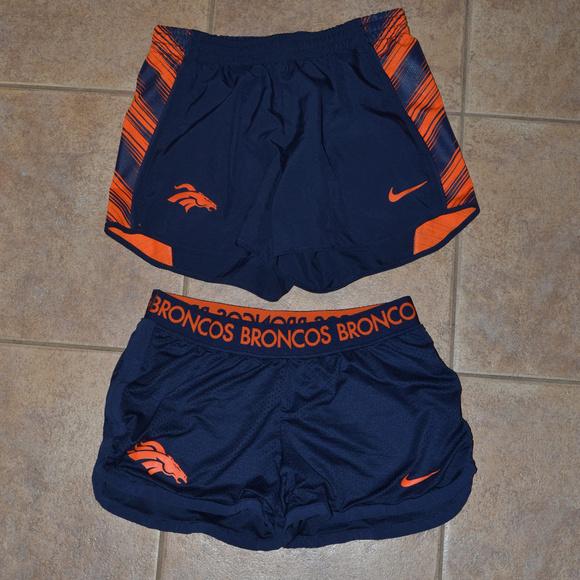 Denver Broncos Nike Shorts Size Small Dri Fit